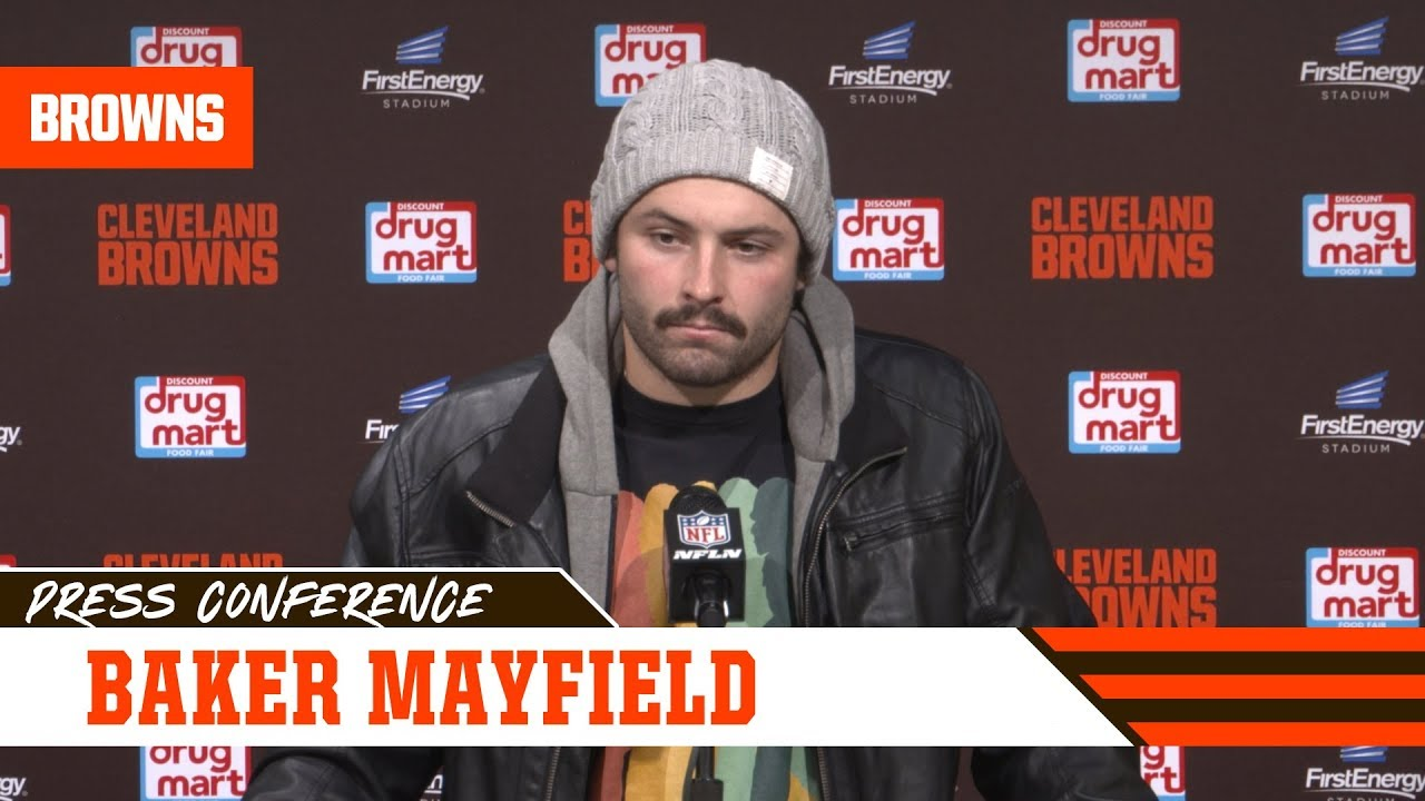 Baker Mayfield postgame press conference - Browns vs. Bills