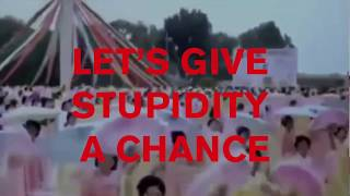 Pet Shop Boys - Give stupidity a chance (lyric video)
