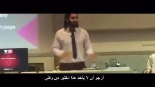 📍طالب مسلم يحرج بروفسور في جامعه أمريكيه إدعى بأن الإسلام يحرم العلم ووضعه في موقف محرج أمام طلابه