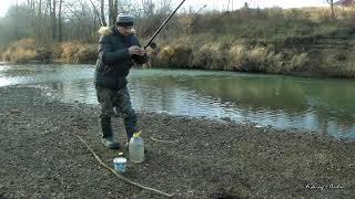 Отличная ловля пескаря в ноябре на поплавок! Главное найти место!