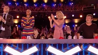 Issy Simpson Blows Judges Away With Her Magic Skills | Week 2 | Britain