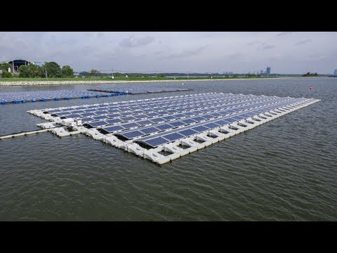Singapore launches world's biggest floating solar test-bed