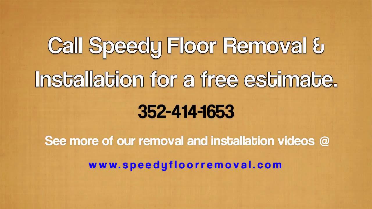 Speedy Floor Removal - Remove Wood Flooring - YouTube - Wood Floor Removal Machine WB Designs