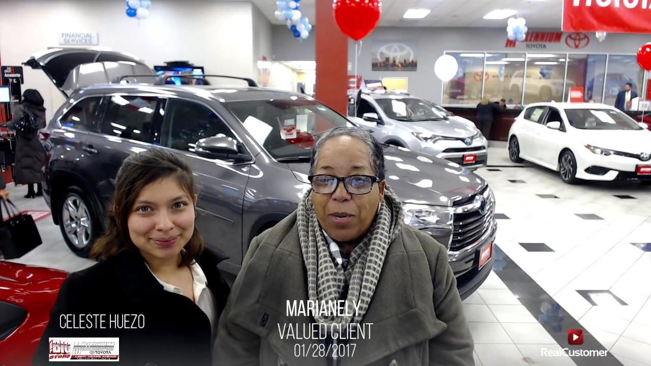 Marianely Reviews Millennium Toyota And Sperson Celeste Huezo