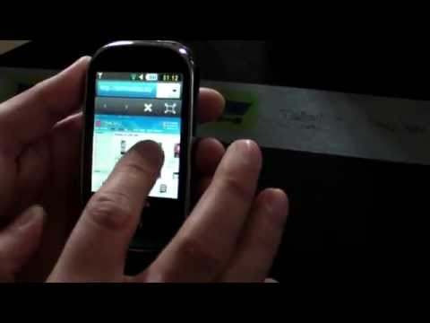 Samsung M5650 Lindy Hands on HD - www.TelefonulTau.eu -