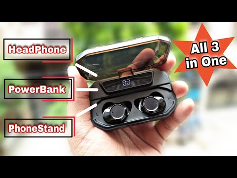 G02 Wireless Headphones All In One | POWER BANK | MOBILE STAND | HEADPHONE
