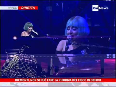 HD - Lady Gaga - Europride Roma 2011 - Born This Way and The Edge of Glory - Live
