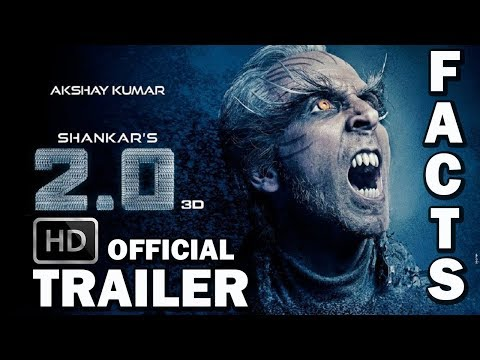 ROBOT 2.0 Interesting Facts 2018 🤖| 2.0 Official Trailer HD