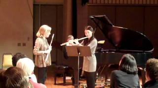 Paula Robison Masterclass: Mayuko Akimoto Performing Reinecke Concerto, Mvt. 3 (Part 1)