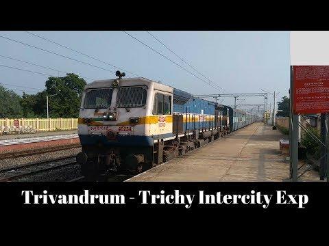 22628/Thiruvananthapuram Central -Tiruchirappalli SF InterCity Express Departed From DG