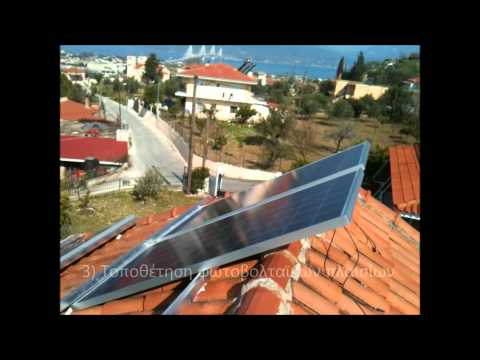 Energy-Greece Fotovoltaic panels installation 2
