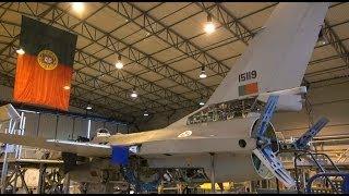 Força Aérea Portuguesa -  Hangar da manutenção F-16