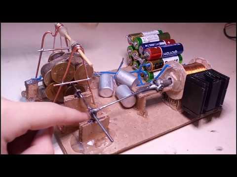 Самодельный электродвигатель