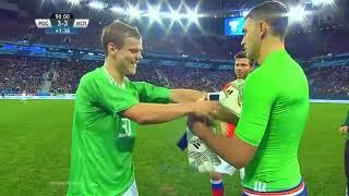 Глушаков встаёт в ворота сборной России