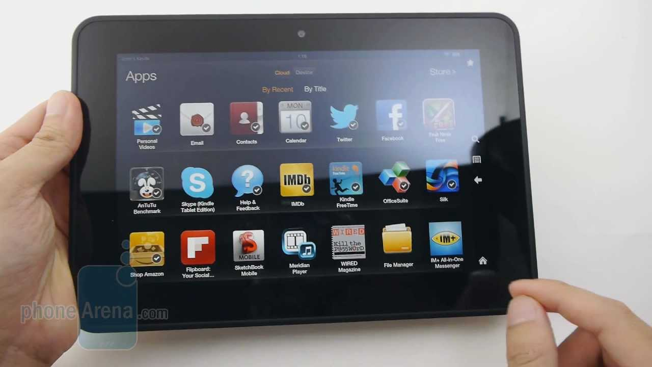 Amazon Kindle Fire HD 8 9 Review