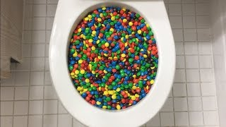 Will it Flush? - M&M's...