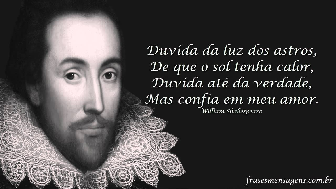William Shakespeare 20 Frases Fortes Youtube