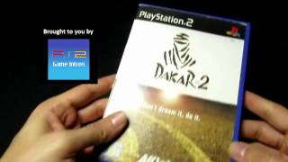 Dakar 2 - PS2/Playstation 2 Cover/Game