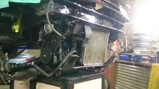 Dépose moteur R9 Turbo