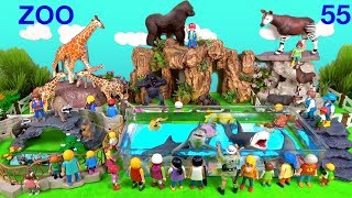 Wild Zoo Animals - Toys For Kids - Learn Animals Names and Sounds - Learn Colors with Animals 55