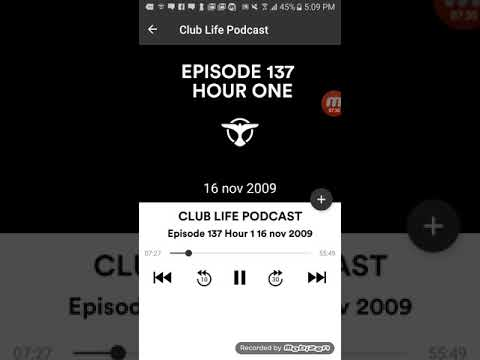 Tiësto's Club Life Episode 137 Hour 1 (Podcast)