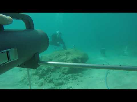 Underwater cooperative localization in Folkestone Marine Park, Barbados