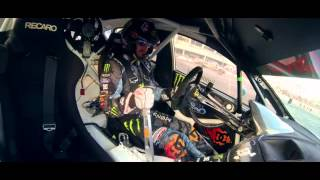 Ken Block drifts party