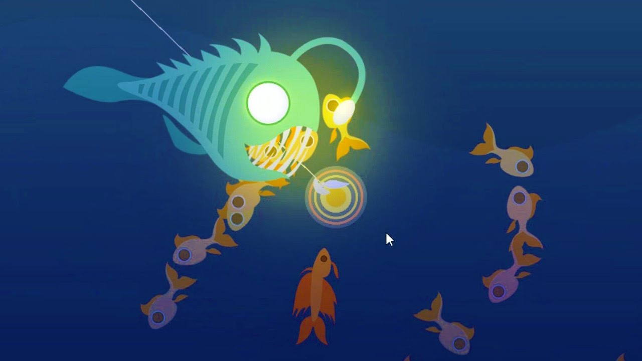 This Dang Fish Grew A Lightbulb On It S Head