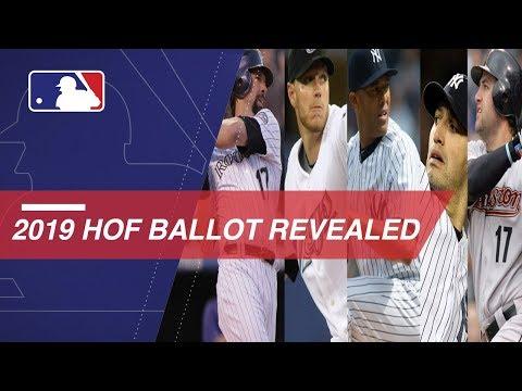 The Sports Feed - Baseball 2019 HoF Class Revealed Tonight