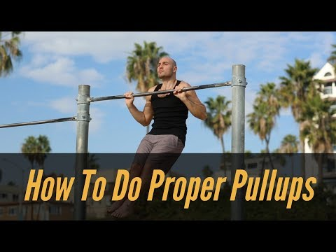 💪 How to do Proper Pull Ups 💪 with Antranik (Part 1/2)