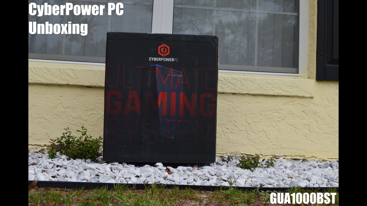 Cyberpower PC Unboxing- Gamer Ultra Desktop System