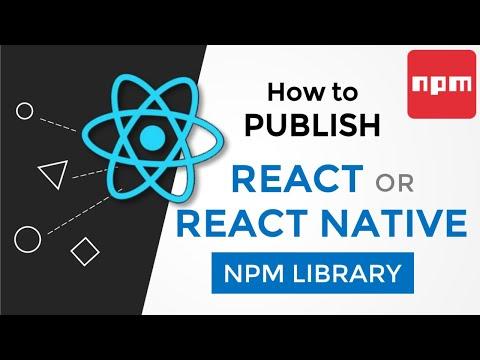 How to Publish React / React Native Library [Urdu/Hindi] thumbnail