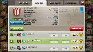 Clash of clans/ CW 3 star + Clan Fail (Deutsch)