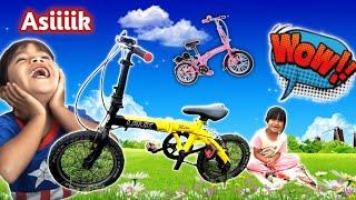 BANGUN TIDUR Pengen Bermain Sepeda LIPAT