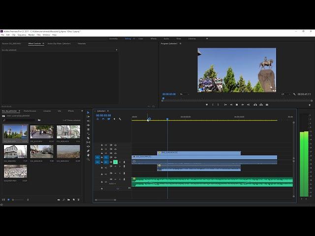 Premiere Pro Eğitimi 13 -  Video boyutlandırması nasıl yapılır