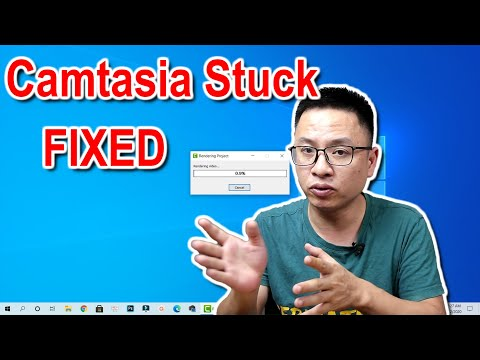 How to Fix Camtasia Rendering Stuck Issue