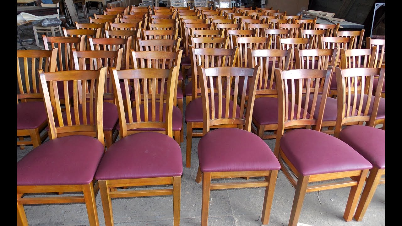 Mobiliario para restaurantes cristal muebles r sticos for Sillas para restaurante