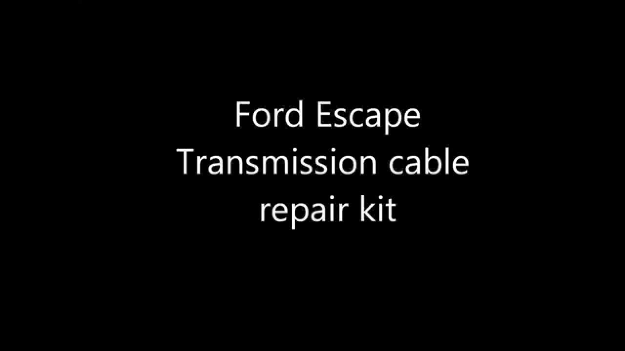 Ford Escape Shift Cable Repair Kit Includes Replacement Bushing B A Cat 5 Wire Diagram Youtube