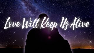 Love Will Keep Us Alive | Eagles Karaoke (Key of G)