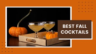 Best Fall Cocktails