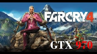 Far Cry 4 PC Gameplay - Ultra Max Settings GTX 970 HD 1080p 60 FPS