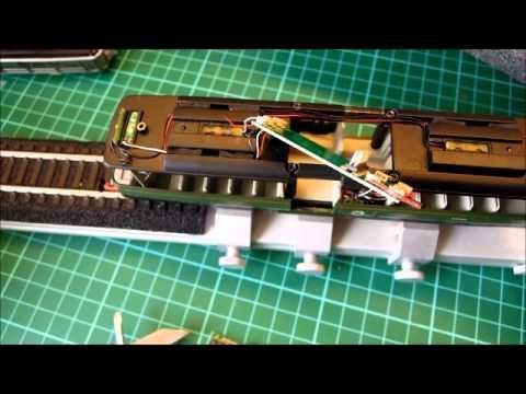 DCC chip fitting for Heljan Railbus