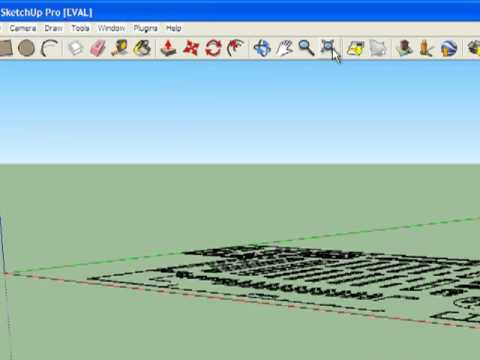 Sketchup tutorial importing an autocad dwg file for Google sketchup converter