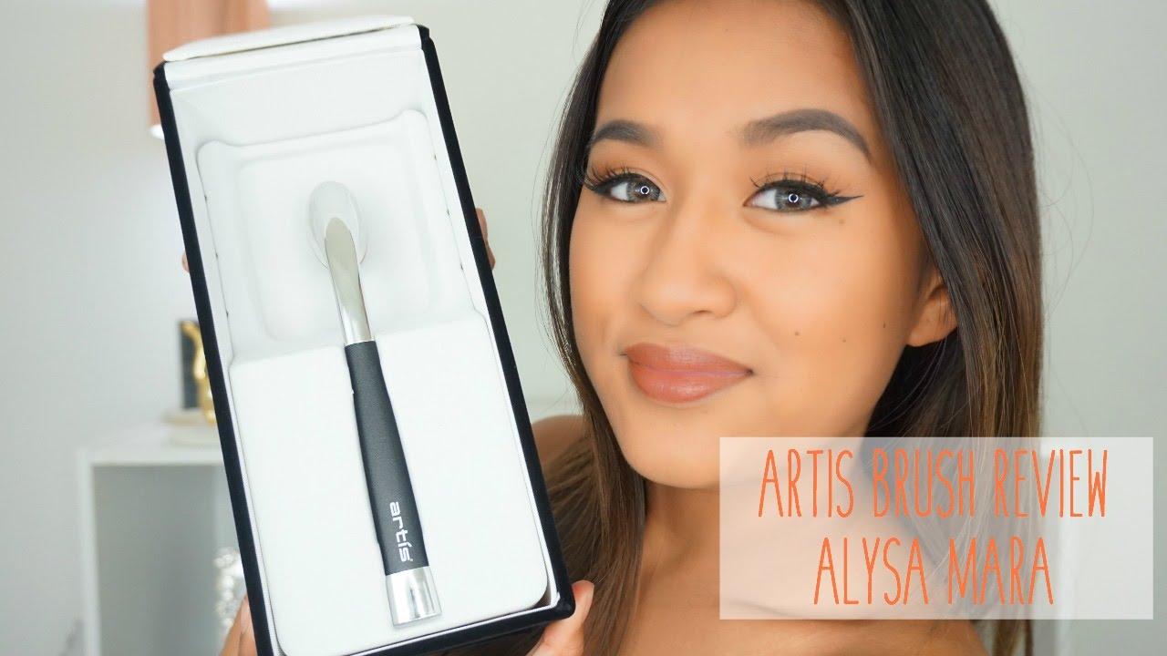 60 artis brush oval 6 review tutorial alysa mara for Brush craft vs artis