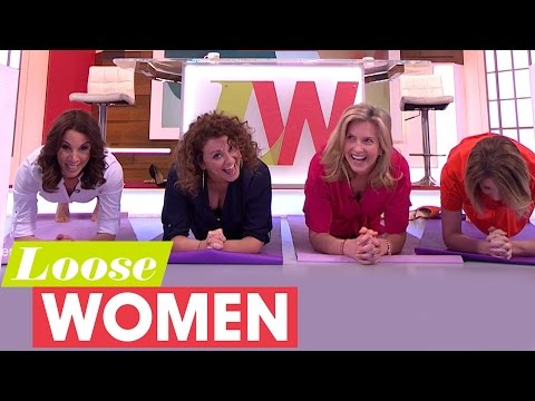 Loose Women Have A Plank Off And Ben Shephard Isn't Happy About It | Loose Women