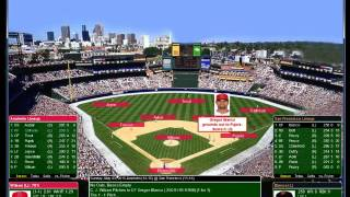 PureSim Baseball 5 4 2015 LA Angels at San Francisco CJ Wilson vs Peavy
