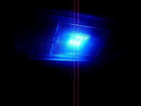Luz Interior Azul En El Chevy De Max Avi Youtube