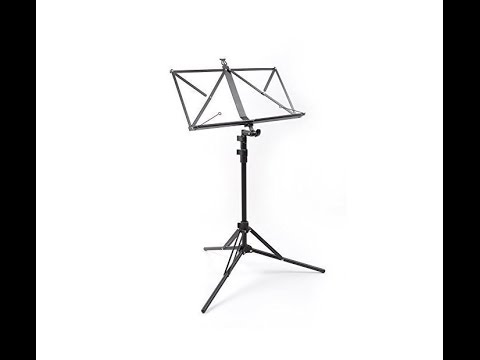 Pro Music Kit Compact Music Stand Demo & Review