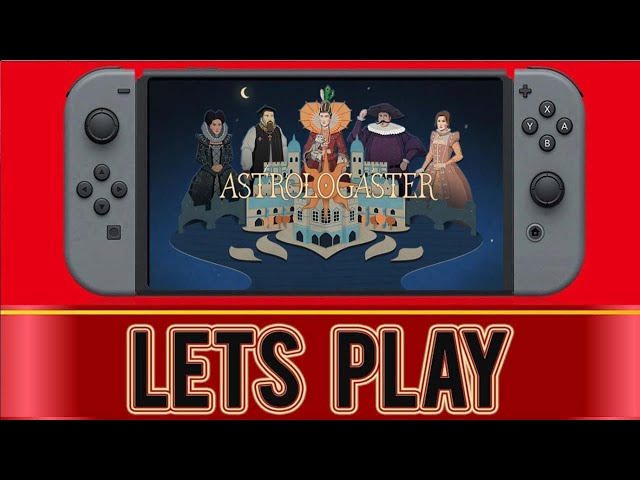 Astrologaster   Nintendo Switch Gameplay #3 (1st letter attained!)