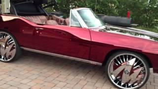 "Plies 1968 Pontiac Lemans on 26"" DUB Zig-Zag Floaters"